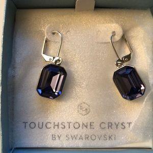 Touchstone Crystal by Swarovski Erin Earrings